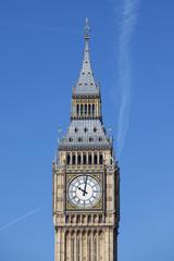 Big Ben with blue sky