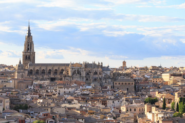 Toledo old town Cityscape, Spain.