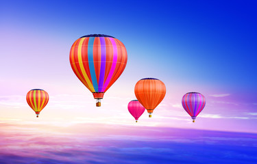 air-balloons in sky