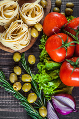 tomatoes with pasta
