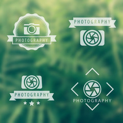 photography, camera, photographer logo, emblems, signs