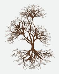 Vector Dead Tree Design