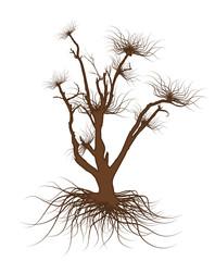 Dead Tree Vector Element