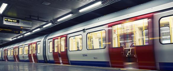 Foto op Aluminium Londen London underground