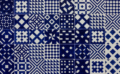Fotomurales - Ceramic tile in Lisbon street, Portugal.