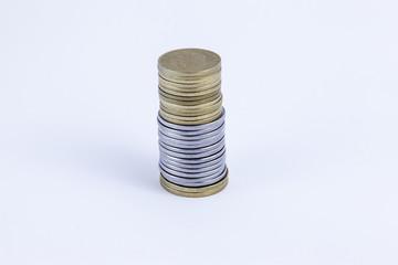 La lira, la vecchia moneta italiana: tutte in fila