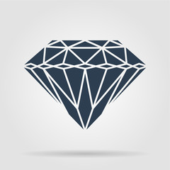 Diamond icon - Vector