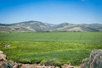 Lower city in Tel Hazor