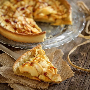 tarte à la pomme caramel 6