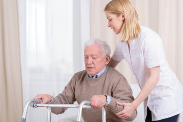 Rehabilitation in nursing home