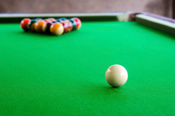 Wall Mural - Billiard