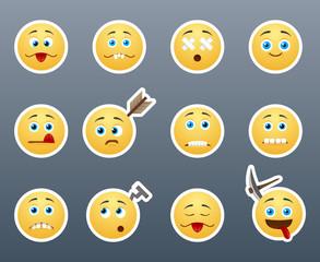 Crazy emoticons