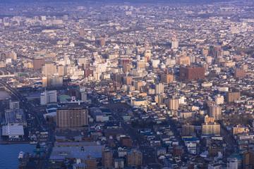 函館山より函館市内夕景