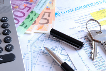 Calculation of mortgage loan