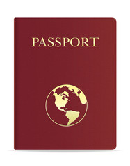 passport vector illustration