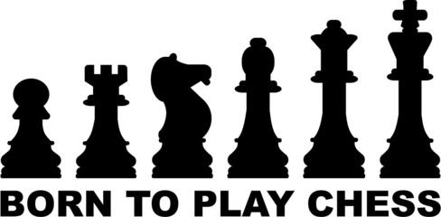 Chess Icons Born to play Chess