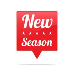 New Season Tag