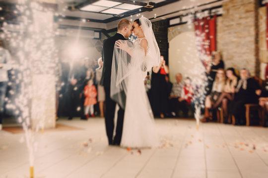 First dance bride