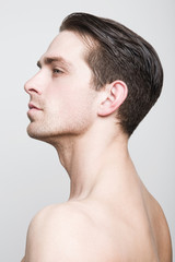 Man's profile