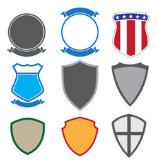Shield and Insignia Shapes