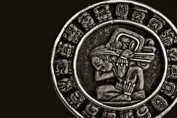 Ethnic souvenir from ceramics. Mexico