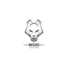 Wolf watcher logo