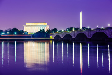 Washington, D.C. Monuments Wall mural