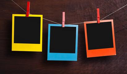 Color polaroids