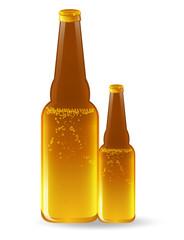 Full Beer Bottles