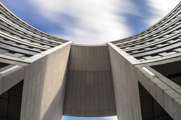 Hochhaus abstrakt