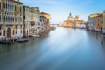 Wall Murals Bestsellers Long exposure of grand canal in Venice, Italy.