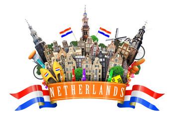 Fototapete - Holland