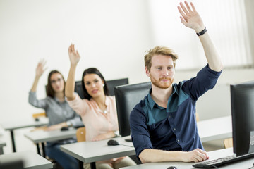 Students in the classroom