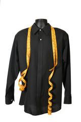 Men's dress shirt on mannequin