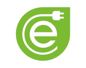 e electric logo