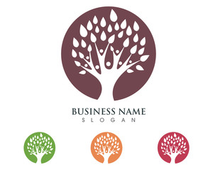 Family Tree Logo Template 1