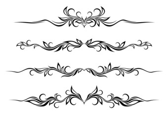 Set of ornamental dividers