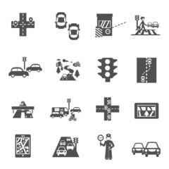 Traffic Icons Set