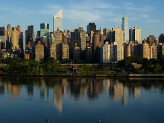 Autocollant - New York City Midtown Skyline-7