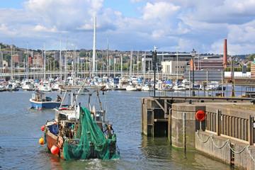 fishing trawler in Swansea
