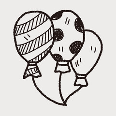 doodle balloon
