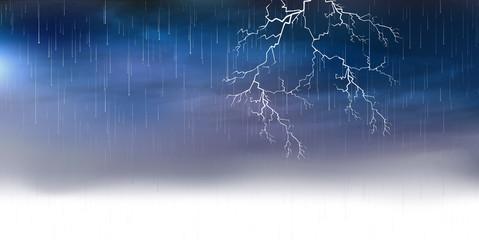雷 雨 背景