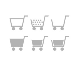 Set of Shopping Cart Icons
