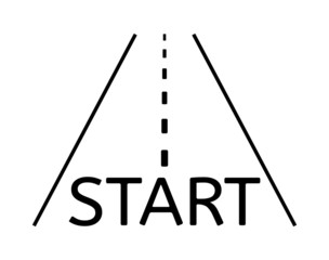 road and start