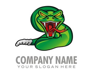 snake creak logo image vector