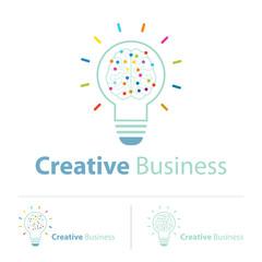 creative idea logo design template
