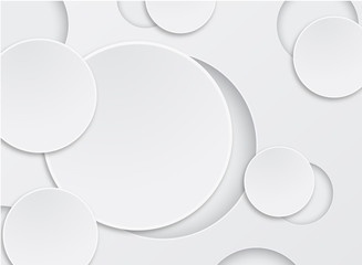 abstract background white circle