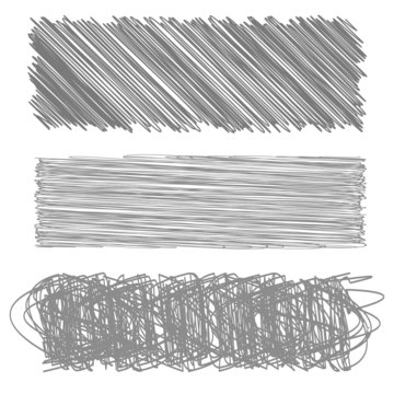 Grey Diagonal Strokes Drawn Background.
