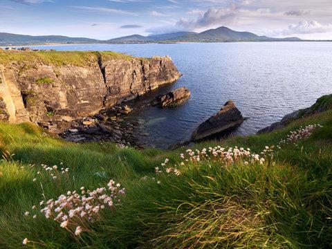 Coastline of the Dingle peninsula