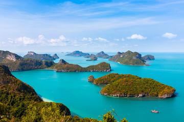 Thailand Ang Thong National Marine Park islands
